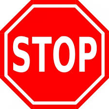 image of a stop sign to represent obstacles stopping you from what you want to do Blog Post by Denise M. Colby