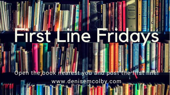 First Line Fridays, Hoarding Books