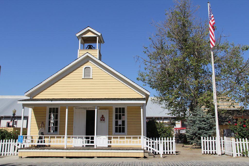 Sacramento, CA One-Room Schoolhouse original inspiration for my story Denise M. Colby
