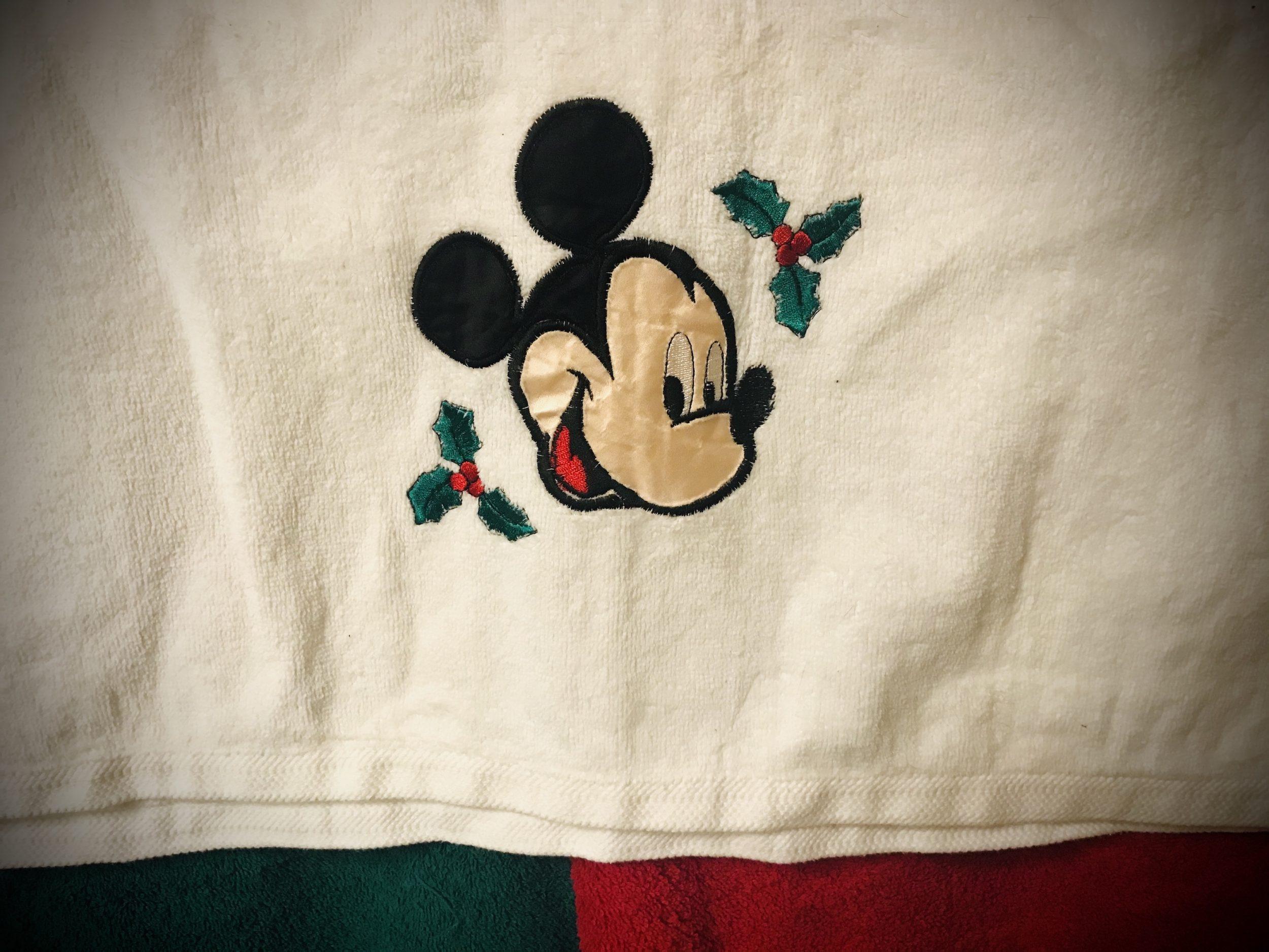 Mickey Christmas Towel